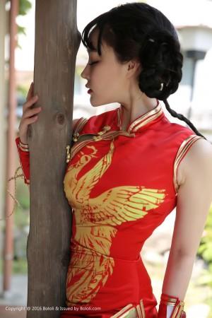 Vol.865 COSPLAY旗袍美女美腿角色扮演美女模特波萝社-柳侑绮完整私房照合集