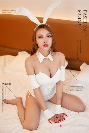 Vol.853 兔女郎情趣制服美腿美女模特YouMi尤蜜-李承美完整私房照合集