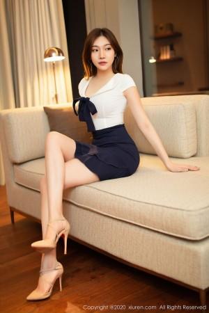 Vol.946 腿控福利美胸内衣诱惑女秘书美女模特秀人网-小狐狸Kathryn完整私房照合集