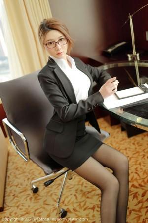 Vol.292 白衬衫女秘书黑丝美腿职场OL内衣诱惑嫩模模范学院-婠婠么完整私房照合集
