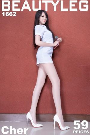 VOL.1533 [Beautyleg]制服美腿丝袜美腿丝袜制服:腿模Cher(Beautyleg Cher)超高清个人性感漂亮大图(59P)