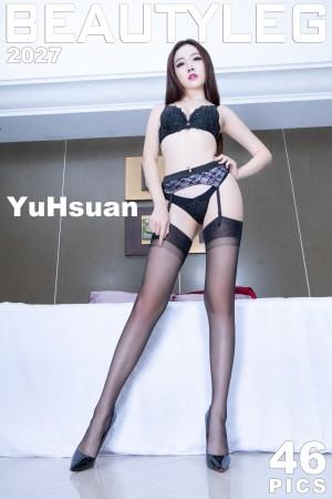 VOL.905 [Beautyleg]丝袜美腿:腿模YuHsuan(Beautyleg YuHsuan)超高清个人性感漂亮大图(46P)