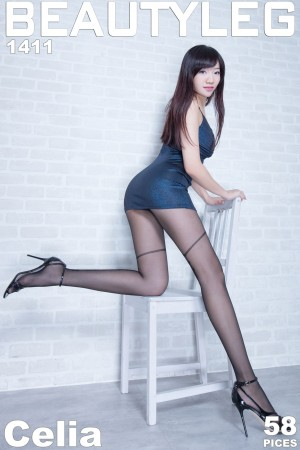 VOL.1863 [Beautyleg]超短裙丝袜美腿:欣洁(腿模Celia)超高清个人性感漂亮大图(52P)
