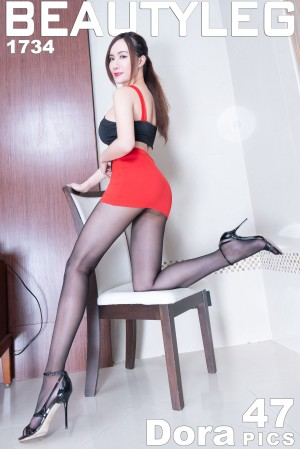 VOL.212 [Beautyleg]制服丝袜美腿黑丝制服丝袜短裙:曾妍希(腿模Dora)超高清个人性感漂亮大图(39P)