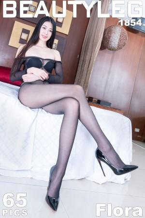 VOL.1054 [Beautyleg]御姐高跟黑丝美腿丝袜短裙:蔡茵茵(腿模Flora)超高清个人性感漂亮大图(60P)
