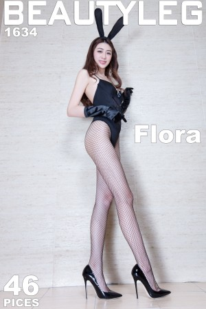 VOL.1650 [Beautyleg]兔女郎制服丝袜美腿:蔡茵茵(腿模Flora)超高清个人性感漂亮大图(52P)