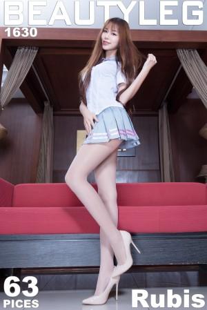 VOL.1336 [Beautyleg]超短裙丝袜美腿长腿美女丝袜短裙:黄上晏(黄上晏Rubis)超高清个人性感漂亮大图(58P)