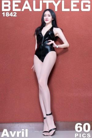 VOL.1614 [Beautyleg]高跟长腿美女:詹艾葳(腿模Avril,腿模Arvil)超高清个人性感漂亮大图(55P)