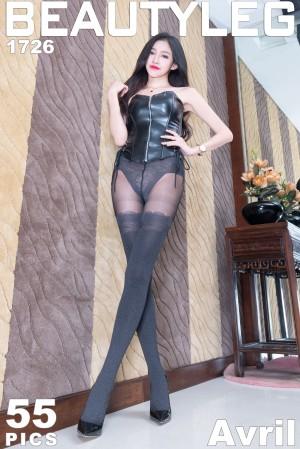 VOL.1654 [Beautyleg]丝袜美腿长腿美女:詹艾葳(腿模Avril,腿模Arvil)超高清个人性感漂亮大图(50P)