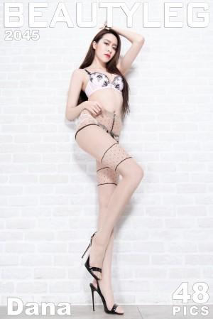 VOL.1315 [Beautyleg]内衣美女肉丝美腿:周宜凌(腿模Dana)超高清个人性感漂亮大图(48P)