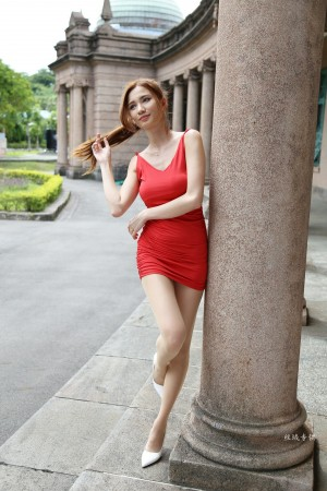 VOL.322 [台湾正妹]超短裙街拍长腿美女:蔡译心(Candice)超高清个人性感漂亮大图(134P)