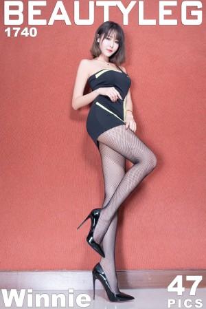 VOL.207 [Beautyleg]丝袜美腿黑丝:Winnie小雪(庄咏惠,庄温妮,腿模Winnie)超高清个人性感漂亮大图(42P)