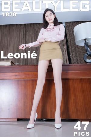 VOL.492 [Beautyleg]丝袜美腿包臀裙美女:腿模Leonie超高清个人性感漂亮大图(47P)