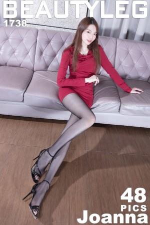 VOL.431 [Beautyleg]丝袜美腿高跟长腿美女:腿模Joanna超高清个人性感漂亮大图(44P)