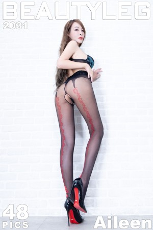 VOL.1279 [Beautyleg]丝袜美女:翁雨澄(腿模Aileen)超高清个人性感漂亮大图(42P)