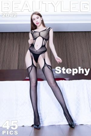 VOL.1179 [Beautyleg]吊带丝袜:崔多朵(崔德蓉,腿模Stephy)超高清个人性感漂亮大图(32P)