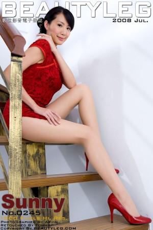 VOL.1715 [Beautyleg]美腿旗袍:黄苇萱(Beautyleg腿模Sunny)超高清个人性感漂亮大图(88P)