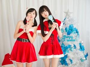 VOL.900 [网络美女]圣诞姐妹花:李思娴超高清个人性感漂亮大图(26P)